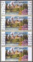 107008 / 0 - Philately / Czech Republic / Machine Stamps