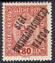 109149 / 0 - Filatelie / ČSR I. / PČ 1919 / Rakouské Výplatní malý formát