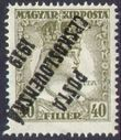 109278 / 0 - Philately / Czechoslovakia 1918-1939 / Posta Ceskoslovenska 1919 Overprint Issue  / Hungarian Charles, Zita
