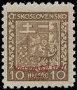 153900 / 2625 - Filatelie / Slovensko 1939-1945 / Přetisková emise