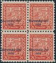 153901 / 2626 - Filatelie / Slovensko 1939-1945 / Přetisková emise