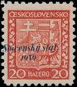 153902 / 2627 - Filatelie / Slovensko 1939-1945 / Přetisková emise