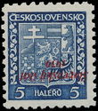 153927 / 2494 - Filatelie / Slovensko 1939-1945 / Přetisková emise