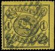 158452 / 103 - Filatelie / Evropa / Německo / Staroněmecké státy / Brunšvik