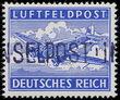 158588 / 124 - Filatelie / Evropa / Německo / Obsazená území