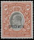 158610 / 656 - Filatelie / Afrika / Severní a východní Afrika / Britská východní Afrika a Uganda