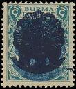158764 / 765 - Filatelie / Asie / Jižní Asie / Barma