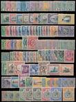 159374 / 1155 - Filatelie / Celý svět - partie