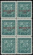 159401 / 2775 - Filatelie / Slovensko 1939-1945 / Přetisková emise