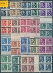 159765 / 2891 - Filatelie / ČSR II. / Revoluční přetisky 1944-1945