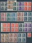 159767 / 2886 - Filatelie / ČSR II. / Revoluční přetisky 1944-1945