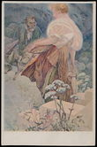 164104 / 0 - Picture Postcards / Theme / Alfons Mucha