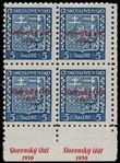166017 / 2419 - Filatelie / Slovensko 1939-1945 / Přetisková emise