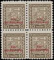 166020 / 2420 - Filatelie / Slovensko 1939-1945 / Přetisková emise