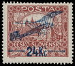 166504 / 1408 - Filatelie / ČSR I. / Letecké 1920 - ex Wilhelms