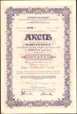 167002 / 1238 - Ostatní sběratelské obory / Akcie, obligace, šeky