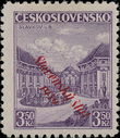 170415 / 2560 - Filatelie / Slovensko 1939-1945 / Přetisková emise