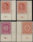173700 / 938 - Filatelie / ČSR I. / Předběžné, souběžné 1918-1919