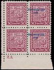 177831 / 2125 - Filatelie / Slovensko 1939-1945 / Přetisková emise