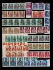 182153 / 2790 - Filatelie / ČSR II. / Revoluční přetisky 1944-1945