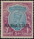 186063 / 915 - Filatelie / Asie / Jižní Asie / Nabha