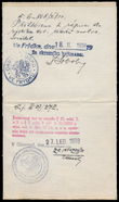 188209 / 1750 - Ostatní sběratelské obory / Legitimace