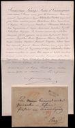 188624 / 1710 - Autogramy, rukopisy / Šlechta a panovnické rody