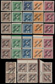 190074 / 1813 - Philately / Czechoslovakia 1918-39 - ex PYTLÍČEK / Posta Ceskoslovenska 1919 Overprint Issue  / Austrian Newspaper