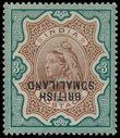 191031 / 711 - Filatelie / Afrika / Severní a východní Afrika / Britské Somálsko