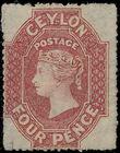 191350 / 832 - Filatelie / Asie / Jižní Asie / Cejlon