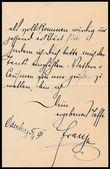 194323 / 1715 - Autogramy, rukopisy / Šlechta a panovnické rody