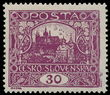 195362 / 1780 - Philately / Czechoslovakia 1918-39 - ex PYTLÍČEK / Hradcany Issue - Perforated