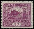 195362 / 1780 - Filatelie / ČSR I. - ex PYTLÍČEK / Hradčany 1918 - zoubkované