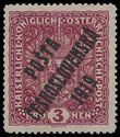 195372 / 1795 - Philately / Czechoslovakia 1918-39 - ex PYTLÍČEK / Posta Ceskoslovenska 1919 Overprint Issue  / Austrian Coat of arms large size