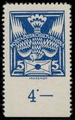 195403 / 1861 - Philately / Czechoslovakia 1918-39 - ex PYTLÍČEK / Dove 1920