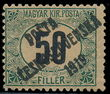 195405 / 1847 - Philately / Czechoslovakia 1918-1939 / Posta Ceskoslovenska 1919 Overprint Issue  / Hungarian Postage Due