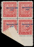 196013 / 3083 - Philately / Slovakia 1939-1945 / Overprint Issue
