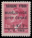 197026 / 1021 - Philately / Czechoslovakia 1945-1992 / Revolutionary Overprints 1944-1945