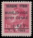 197026 / 1021 - Filatelie / ČSR II. / Revoluční přetisky 1944-1945