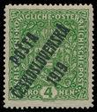 198583 / 0 - Filatelie / ČSR I. / PČ 1919 / Rakouské Výplatní velký formát
