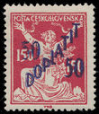 198630 / 0 - Philately / Czechoslovakia 1918-1939 / Postage Due Stamps