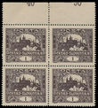 198938 / 0 - Philately / Czechoslovakia 1918-1939 / Hradcany Issue - Perforated