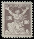 199029 / 0 - Philately / Czechoslovakia 1918-1939 / Chainbreaker Issue 1920