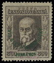 199240 / 3352 - Philately / Czechoslovakia 1918-39 - ex PYTLÍČEK / Masaryk Issue 1923-1926