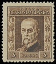 199242 / 3354 - Philately / Czechoslovakia 1918-39 - ex PYTLÍČEK / Masaryk Issue 1923-1926
