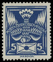 199297 / 3337 - Philately / Czechoslovakia 1918-39 - ex PYTLÍČEK / Dove 1920