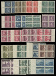199533 / 3034 - Philately / Protectorate Bohemia-Moravia / Overprint Issue