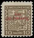 200607 / 3160 - Philately / Slovakia 1939-1945 / Overprint Issue