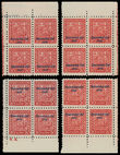200613 / 3162 - Philately / Slovakia 1939-1945 / Overprint Issue
