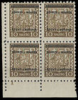 23770 / 1215 - Philately / Protectorate Bohemia-Moravia / Overprint Issue